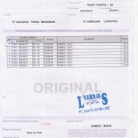 Belajar EMKL : Bill of Lading